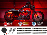 Advanced Red SMD LED Motorcycle Light Kit