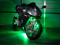 Advanced Green LED Motorcycle Lights