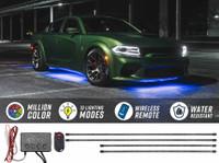 Million Color Slimline SMD LED Underbody Lighting Kit