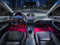 Pink Expandable LED Interior Lighting Kit