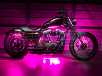 Advanced Pink Motorcycle Lighting Kit