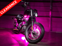 Advanced Pink Motorcycle LED Lights