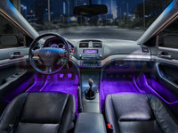 Purple Expandable LED Interior Lighting Kit