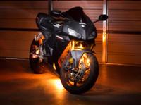 Advanced Orange LED Motorcycle Lighting Kit