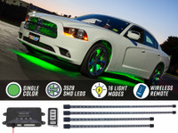 Green Wireless SMD LED Underbody Lighting Kit