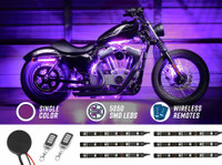 Advanced Purple SMD LED Motorcycle Light Kit