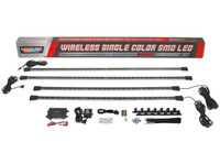 White Wireless SMD LED Underbody Lighting Kit What's Included