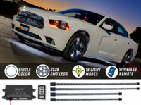 White Wireless SMD LED Underbody Lighting Kit