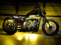 Advanced Yellow Motorcycle Lights