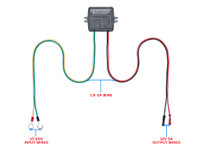 Golf Cart Battery Voltage Reducer Wire Lengths