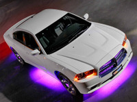 Purple Wireless Underbody Lights