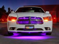 Purple Wireless LED Underbody