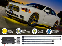 Yellow Wireless SMD LED Underbody Lighting Kit