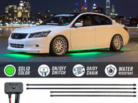 Green SMD LED Slimline Underbody Lighting Kit