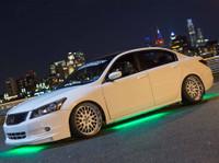 Green Slimline LED Underbody Lights