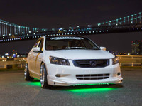 Green Slimline LED Underbody Lighting Kit