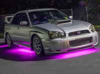 Pink Slimline Underbody Lights