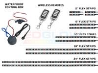 LiteTrike I Advanced Million Color Flexible LED Strips, Control Box, & Two Wireless Remotes