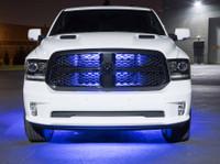 Blue Slimline Truck Underbody Light Kit