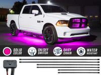 Pink SMD LED Slimline Truck Underbody Lighting Kit