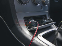 12 Volt Cigarette Lighter Power Adapter Installed