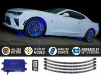 Million Color Flexible LED Wheel Well Lights