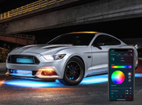 Million Color LED Underbody Light Kit with Smartphone Control