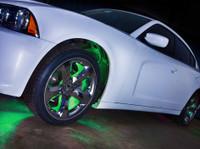 Green Flexible SMD LED Wheel Well Lights