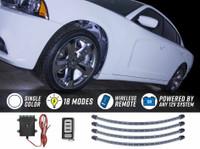 White Flexible LED Wheel Well Lights