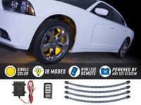 Yellow Flexible LED Wheel Well Lights