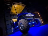 Blue LED Golf Cart Lights