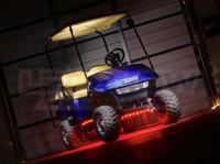 Red LED Golf Cart Lighting Kit