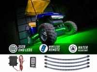Green LED Golf Cart Underbody Lights