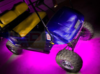 Pink Golf Cart Lighting Kit