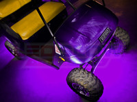 Purple Golf Cart Lighting Kit