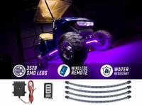 Purple LED Golf Cart Underbody Lights
