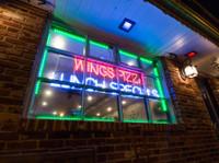 Multi-Color Storefront Window Lights