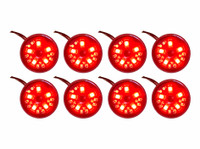 8pc Red Pod Lighting Kit