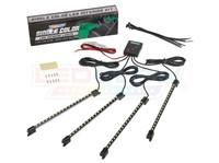 4pc White LED Car Interior Lighting Kit Unboxed