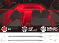Red Marine Boat LED Lighting Kit