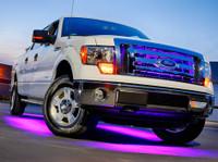 6pc Purple Wireless SMD Truck Underglow