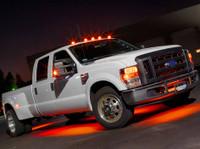 6pc Orange Wireless SMD Truck Underbody Lights
