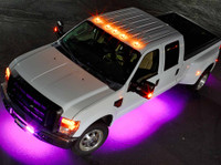 LEDGlow 6pc Wireless Pink SMD LED Underbody Lighting Kit