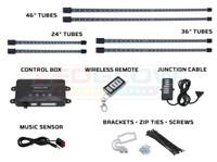 Green Wireless SMD LED Truck Underbody Lighting Kit