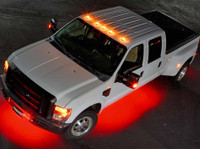 LEDGlow 6pc Wireless Red SMD LED Underbody Lighting Kit