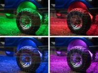 Add-On Million Color Wheel Well Light Tubes