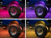 Wheel Well Lighting Add-On Tubes for Million Color Golf Cart Light Kit
