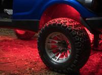Red Add-On Wheel Well LED Lighting Kit