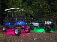 4pc Million Color Golf Cart Expandable Underbody Light Kit