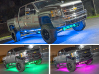 Smartphone Million Color SMD LED Truck Underbody Lighting Kit